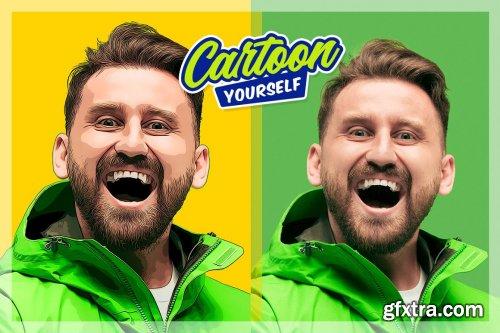 CreativeMarket - Cartoon Yourself 5475206