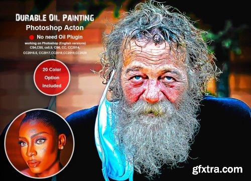 CreativeMarket - Abstract Grunge Art Photoshop Action 5490581