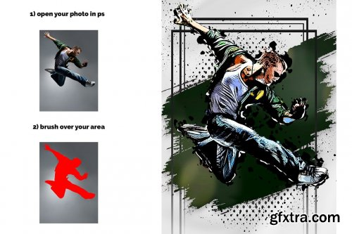 CreativeMarket - Artline Photoshop Action 5640054