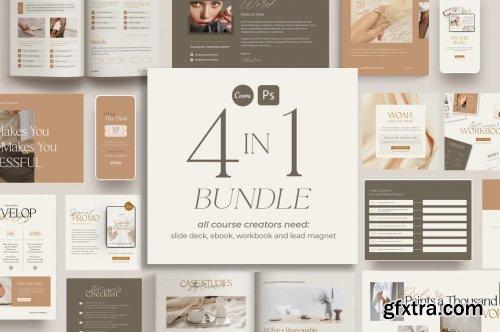 CreativeMarket - 4 in 1 Bundle for Creators CANVA PS 5593902