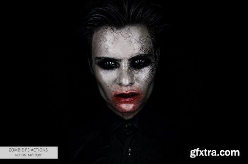 CreativeMarket - Zombie Photoshop Actions 5542513