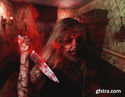 CreativeMarket - Exorcism Photoshop Action 5299028