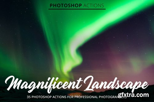 CreativeMarket - Magnificent Landscape Actions 4842999