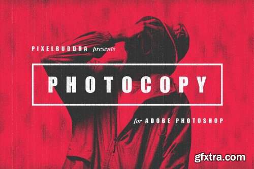 CreativeMarket - Retro Photocopy Effect 5656322
