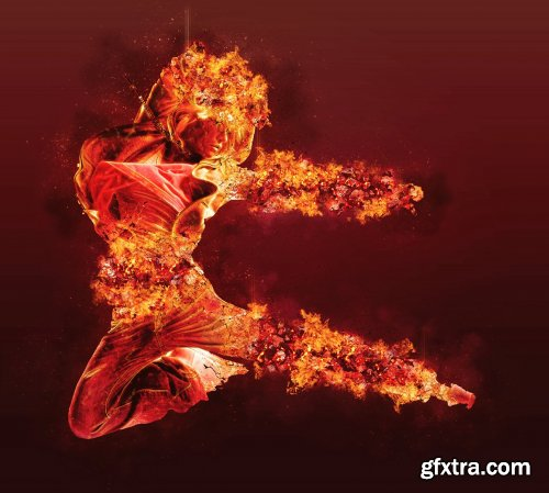 CreativeMarket - Ifrit Photoshop Action 5299037