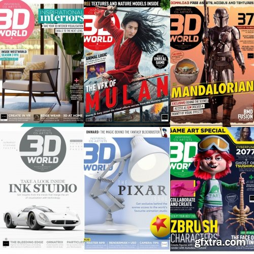 3D World UK - Full Year 2020 Collection