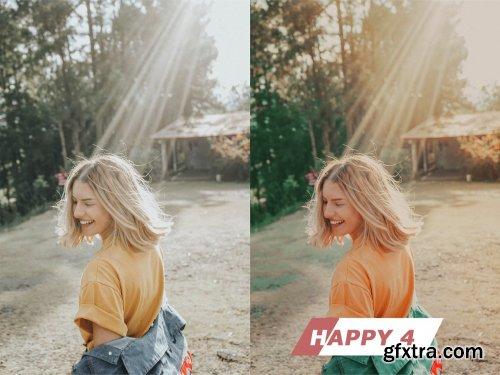 CreativeMarket - Happy Photoshop Actions 5432723