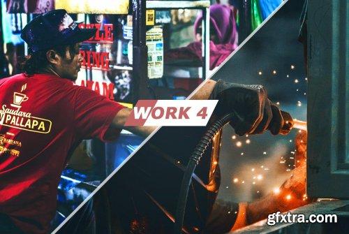 CreativeMarket - Work Photoshop Actions 5435060