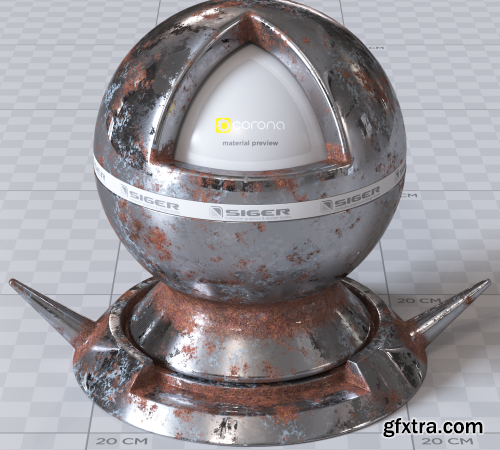 SIGERSHADERS XS Material Presets Studio v2.6.1 for 3ds Max 2013 - 2021