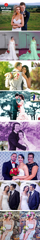 CreativeMarket - Soft Color Wedding Photoshop Action 5529582