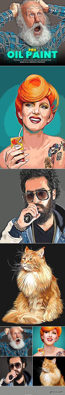 GraphicRiver - Pro Oil Paint Photoshop Action 29624415