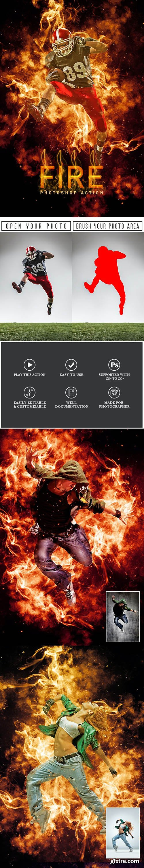 GraphicRiver - Fire Photoshop Action 29628249