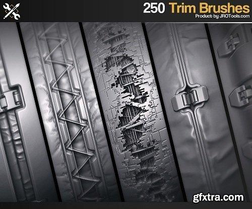 ArtStation Marketplace – ZBrush – 250 SF Trim Brushes Vol.1