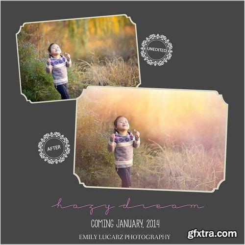 Emily Lucarz Hazy Dream Photoshop Actions