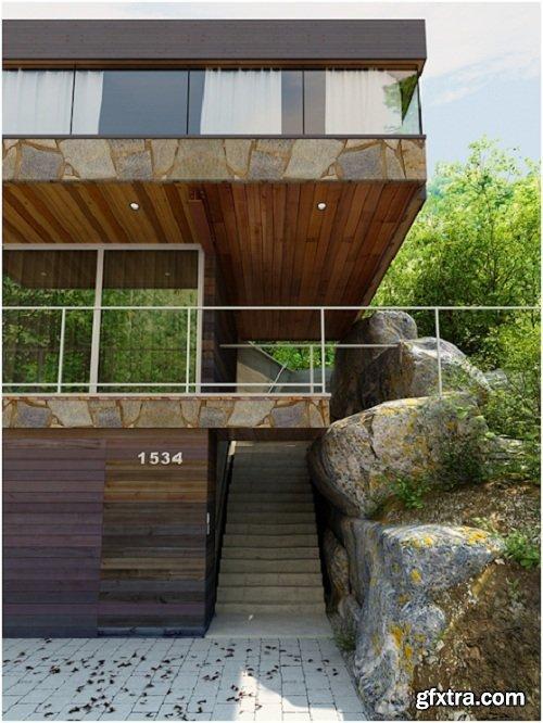 Villa Exterior 09