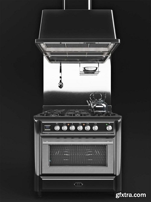 Kitchen unit Ilve Majestic MT-90