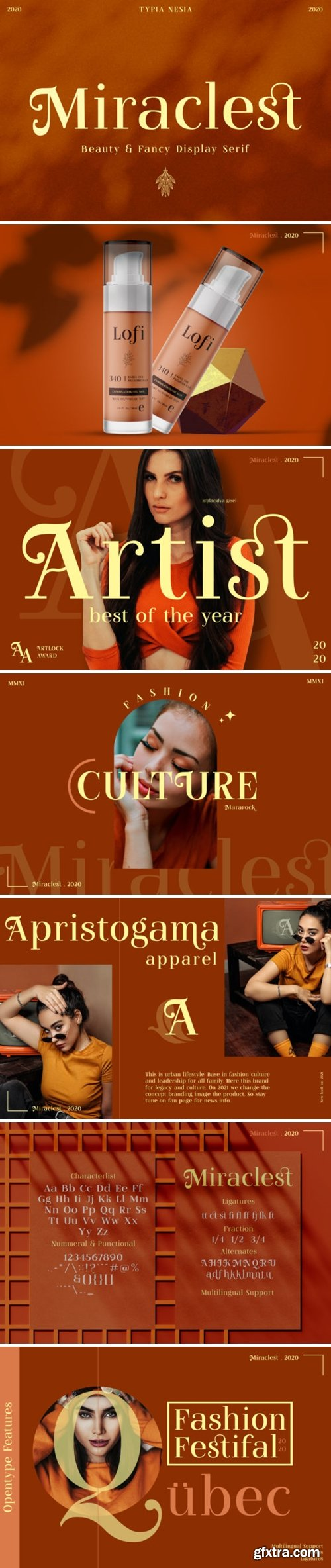 Miraclest Font