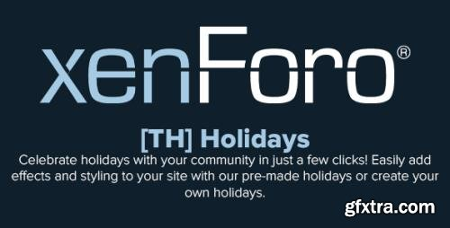 ThemeHouse - Holidays v2.1.0 - XenForo 2.x Add-On