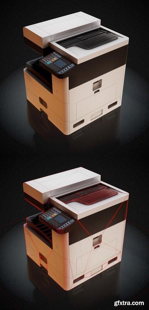 Office MFU Printer 3D model