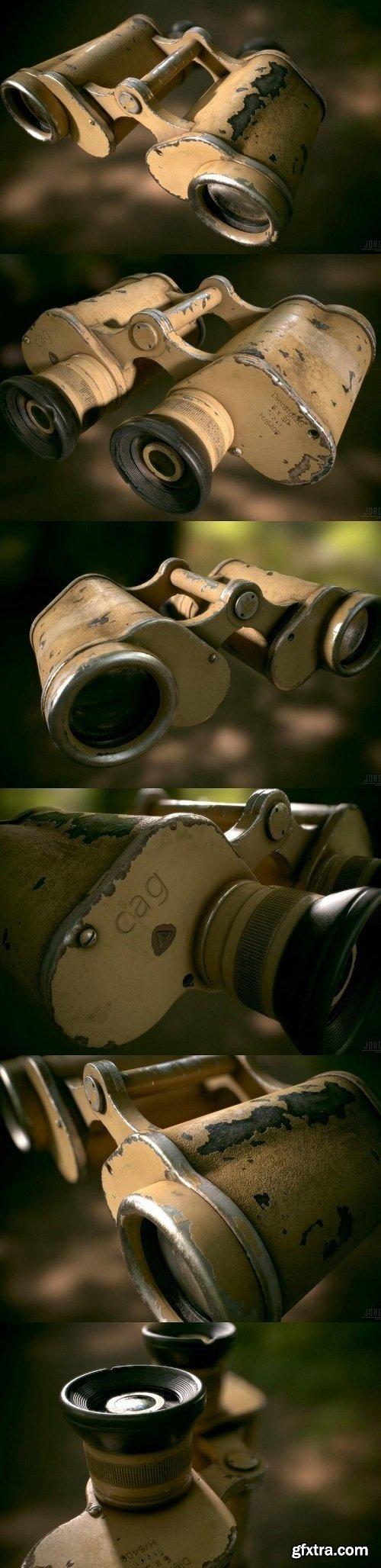 WW2 German Military Afrika Corps Binoculars