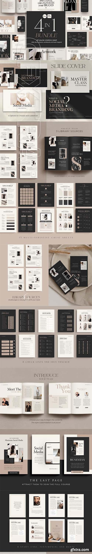 CreativeMarket - 4 in 1 Bundle for Creators CANVA PS 5493656