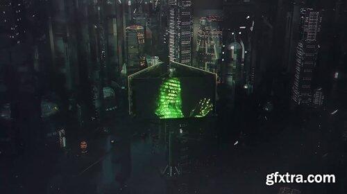 Videohive - Cyberpunk City 4 in 1 - 29712882
