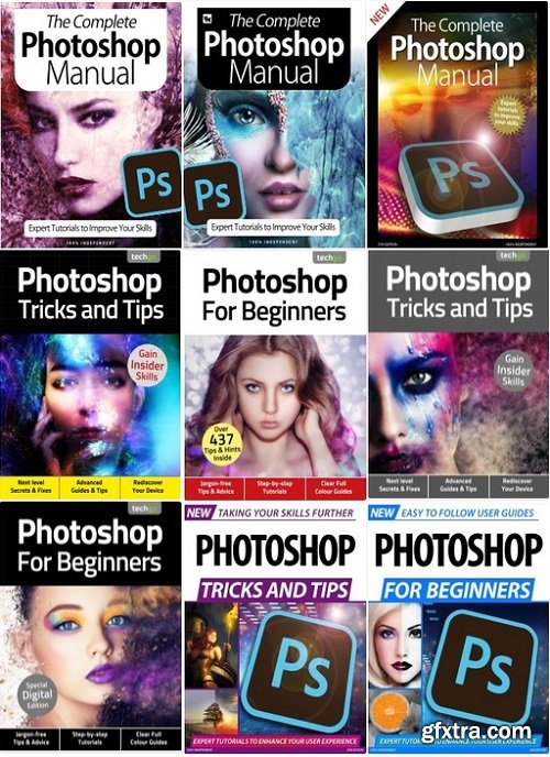 Photoshop The Complete Manual,Tricks And Tips,For Beginners - Full Year 2020 Collection