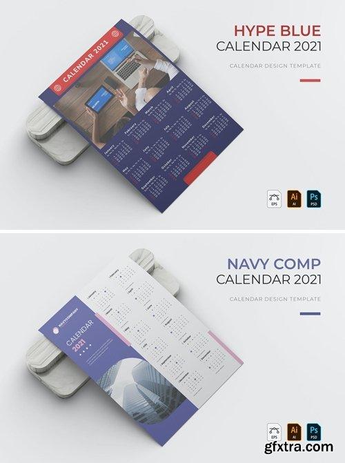 Hype Blue | Calendar
