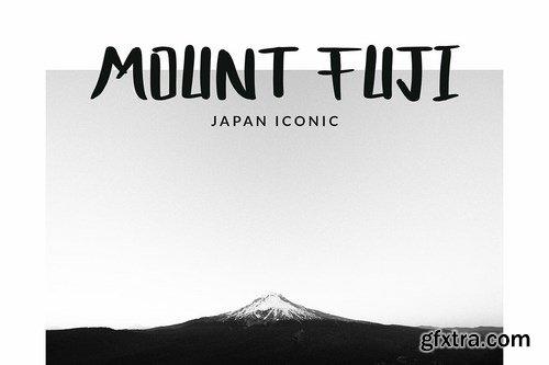 Bocast Japan Style Display Font