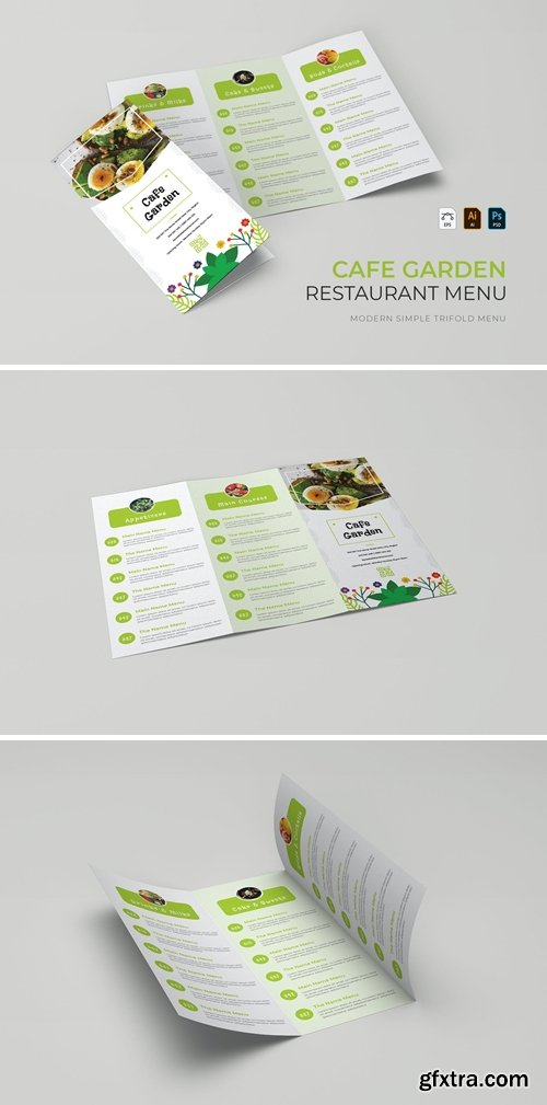 Cafe Garden | Restaurant Menu