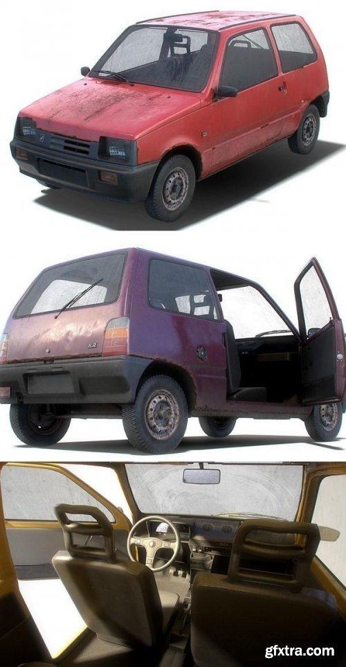 Soviet Car OKA