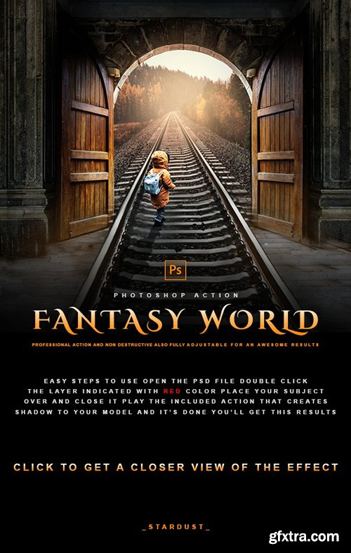 GraphicRiver - Fantasy World - Photoshop Effect 29857235