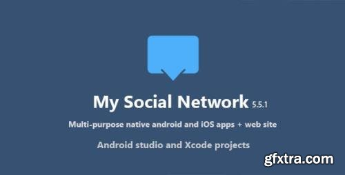 CodeCanyon - My Social Network (App and Website) v5.5.1 - 13965025 - NULLED
