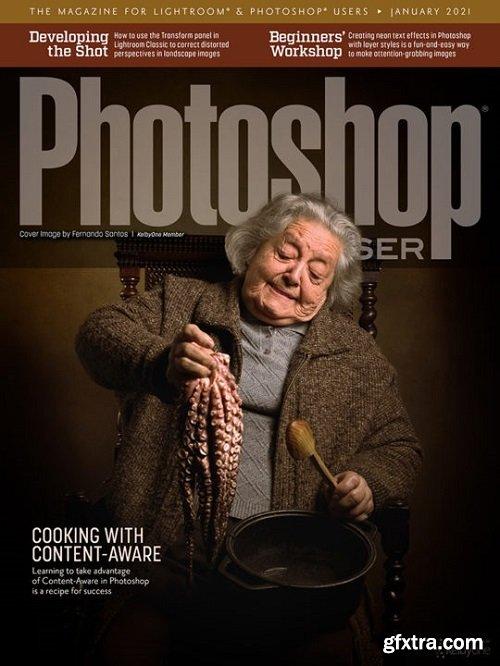 Photoshop User - January 2021 + Tutorial Files