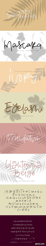 Skintone Script - Stylish Signature Font