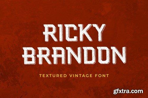 Ricky Brandon Serif Display Font