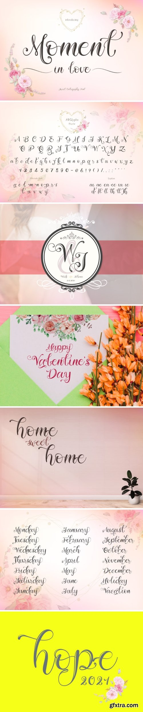 Moment in Love Font