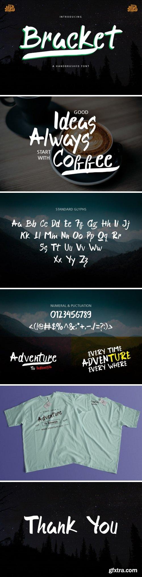 Bracket Font