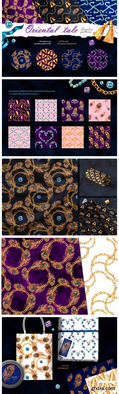 Arabian Fairy Tale Digital Paper Pack 4066987