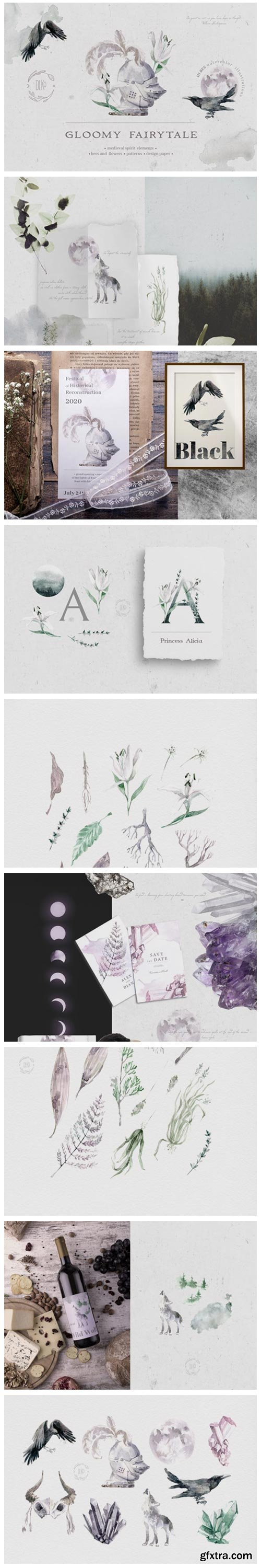 Gloomy Fairytale Graphic Collection 2915402
