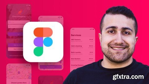 The Complete Figma Course – Designing Mobile & Web App UI/UX