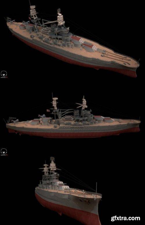 USS Arizona – Pennsylvania Class Battleship