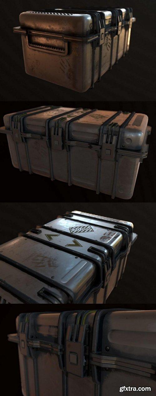 Sci fi Ammunition Box