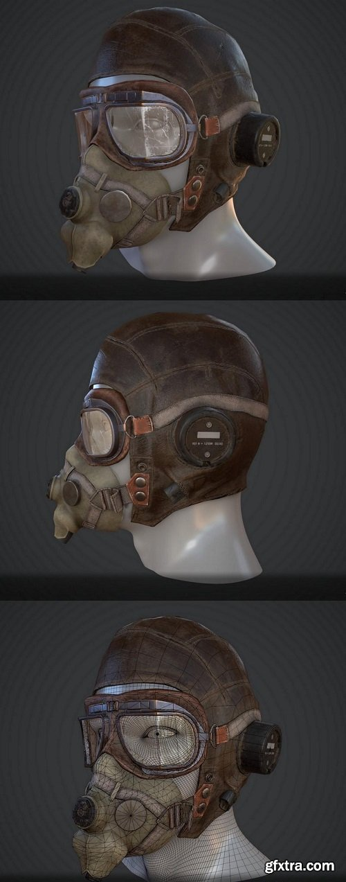 WW2 Aviator Helmet