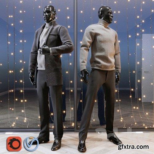 Male mannequin set 2