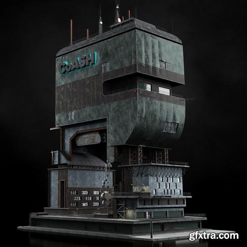 Kitbash3D - Heavy Metal