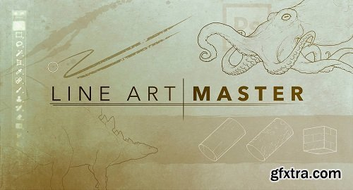 Line Art Master - Create stunning drawings with Adobe Photoshop