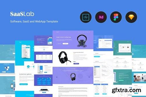 SaaSLab - Software, SaaS and WebApp Template