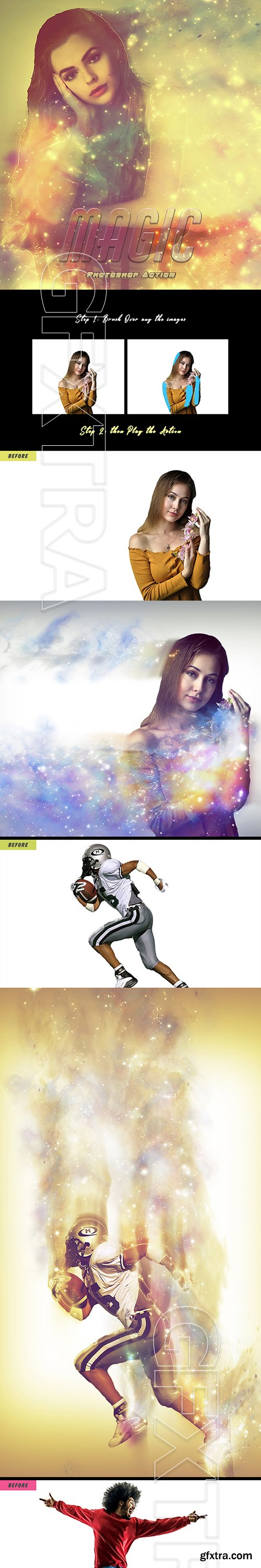 GraphicRiver - Magical Photoshop Action 29654163