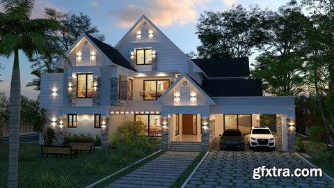 Learn Architectural Visualisation in Sketchup Using Vray 5